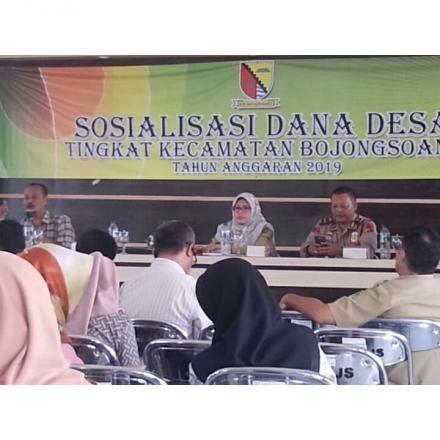 Album : Sosialisasi dana desa tingkat kecamatan bojongsoan
